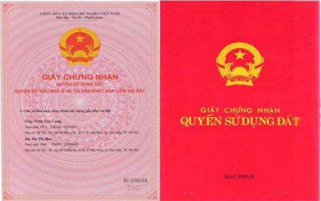 Thủ tục đăng ký tài sản gắn liền với đất vào sổ đỏ