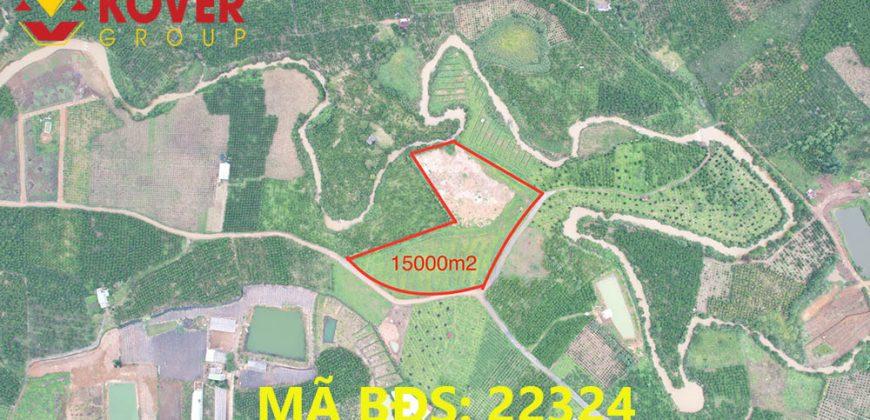 Bán lô đất 15000m2 xã Lộc Châu, Bảo Lộc giá rẻ