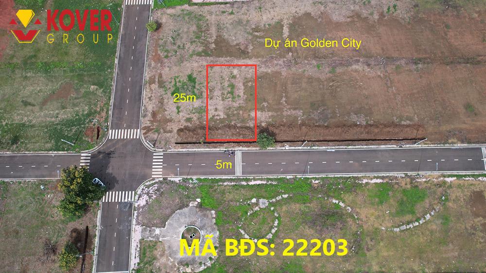 Lô đất 5x25m dự án Golden City