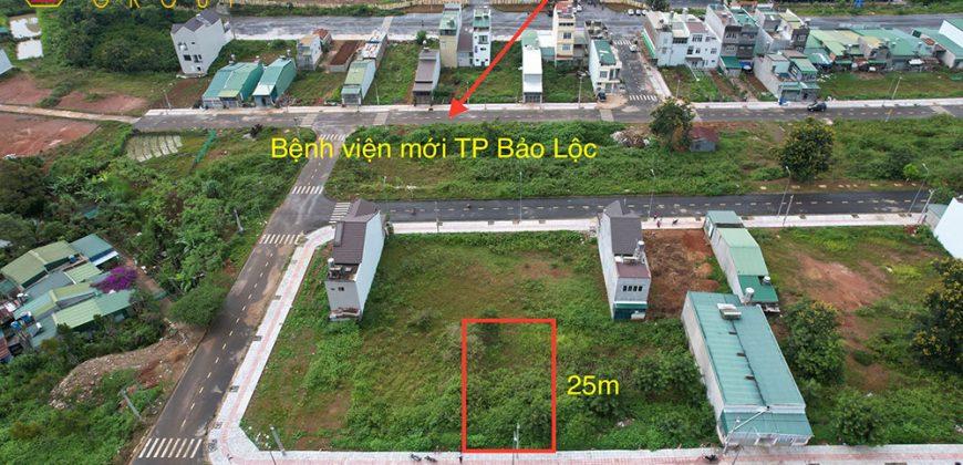 Bán lô đất view núi 5x25m Thành phố Bảo Lộc giá rẻ