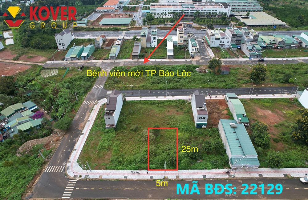 Vị trí đắc địa lô đất Bảo Lộc đang bán