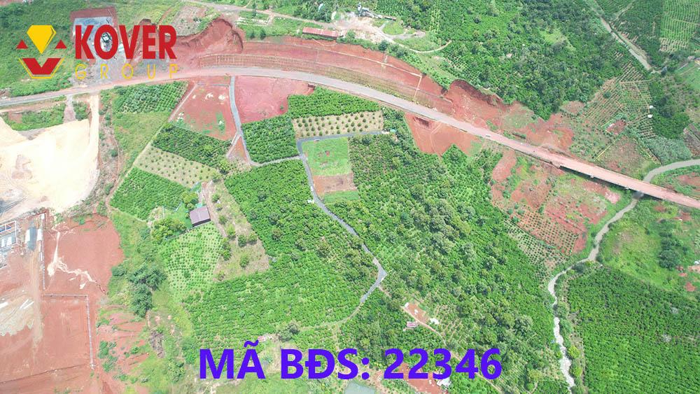 View toàn cảnh lô đất Bảo Lộc đang bán