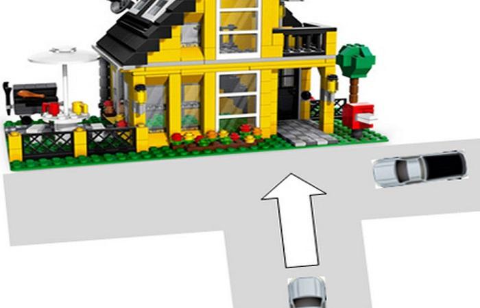 Chọn đất làm nhà tránh đường hình chữ Đinh