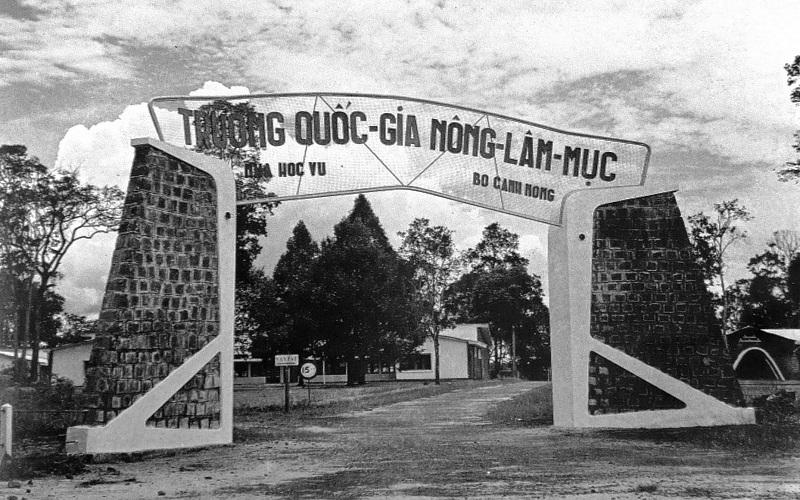 Một ngôi trường tại Thành phố Bảo Lộc xưa