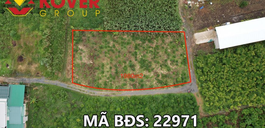 Bán đất vườn có 90m mặt tiền đường TP Bảo Lộc